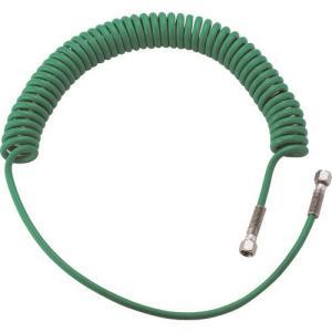 空圧用品 流体継手・チューブ エアチューブ・ホース ●ブレード入りコイルホースのため、耐圧性に優れて...