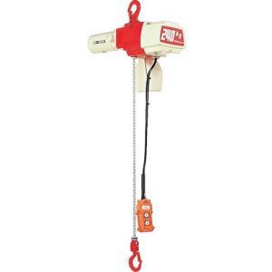 荷役用品 チェンブロック・クレーン 電気チェンブロック ●パワーとスピードを備えた小容量タイプです。...