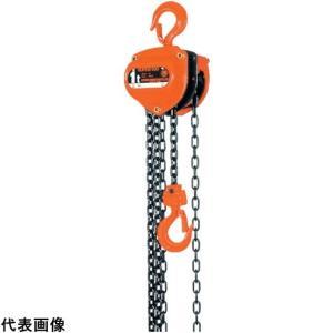 荷役用品 チェンブロック・クレーン 手動チェンブロック ●軸受けにベアリングを使用し、超強力の焼き入...