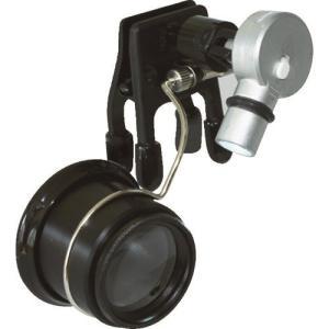 リーフ クリップライト付アイルーペ [CPE-50LED]  CPE50LED 販売単位:1|loupe