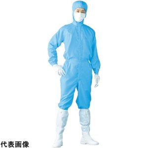 Linet クリーンスーツ LL ブルー [FH199C-02-LL]  FH199C02LL 販売単位:1