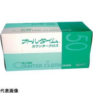 東京メディカル カウンタークロス 大判 61x61cm ブルー  (50枚入) [FT-153]  ...