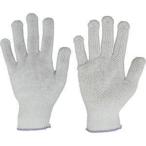 保護具 作業手袋 すべり止め手袋 ●吸湿性が良く、軽作業に最適、薄手タイプ、すべり止め付で女性向きで...