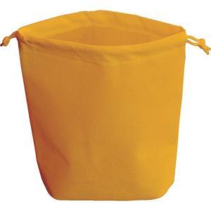 TRUSCO トラスコ中山 不織布巾着袋 A4サイズ マチあり オレンジ 10枚入 [HSA4-10...