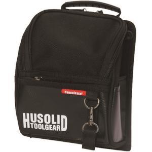 ペンギンエース HUSOLID TOOLGEAR フタ付き腰袋 L []  HT005 販売単位:1
