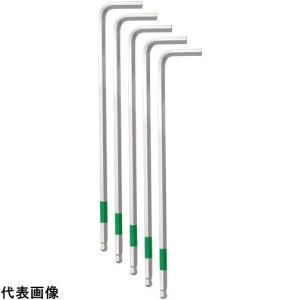 ワイズ スーパーボールレンチ【単品】5本組(LL)4.0mm  SBL405P           ...