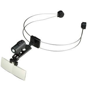 ルーペ ニューヘッドルーペTL ライト付 拡大鏡 虫眼鏡 LED おすすめ 検査 検品 精密作業 ビクセン VIXEN|loupe