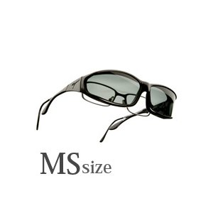 メンズ オーバーサングラス 偏光 オーバーグラス ポラライズド W412G オーバーサングラス 偏光サングラス オーバー VISTANA ビスタナ|loupe