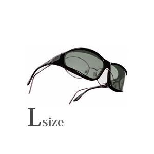 メンズ オーバーサングラス 偏光 オーバーグラス ポラライズド W302G オーバーサングラス 偏光サングラス オーバー VISTANA ビスタナ|loupe