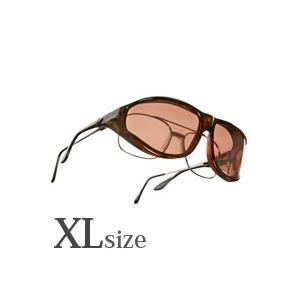メンズ オーバーサングラス 偏光 オーバーグラス ポラライズド W203C オーバーサングラス 偏光サングラス オーバー VISTANA ビスタナ|loupe