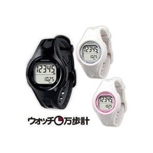 万歩計 ヤマサ 歩数計 腕時計 小型 レディース ダイエット ウォッチ TM-400 女性用 とけい万歩 腕時計タイプ 腕時計 ダイエット カロリー|loupe