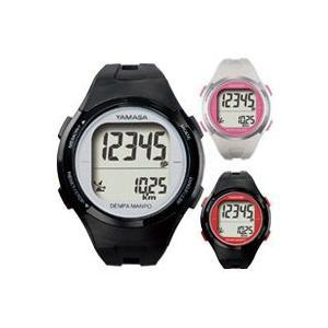 万歩計 腕時計タイプ ウォッチ万歩計 小型 ヤマサ 電波時計 TM-500 とけい万歩 歩数計 カロリー ダイエット メンズ レディース|loupe