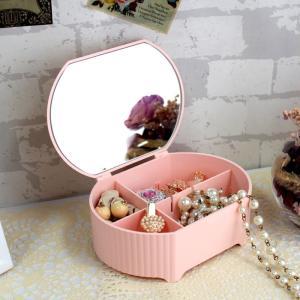 ジュエリーボックス ジュエリーBox ジュエリーケース Petit coffret プチコフレ 鏡 ミラー|loupe