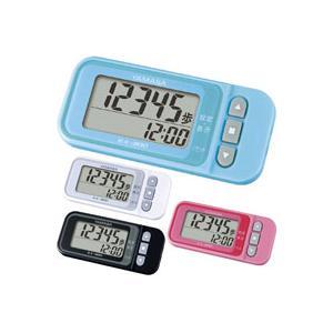 歩数計 万歩計 ヤマサ ダイエット EX-300 ポケット万歩 小型 簡単操作で3D加速度センサー付き らくらくまんぽ|loupe