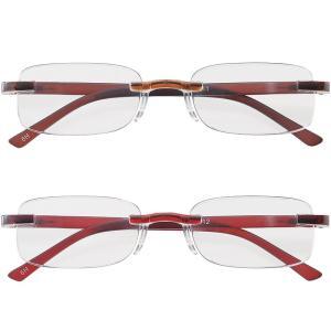 老眼鏡 シニアグラス 女性 レディース おしゃれ 男性 メンズ ライブラリーコンパクト リーディンググラス ふちなし おすすめ|loupe