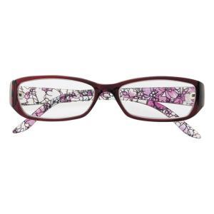 老眼鏡 ライブラリーコンパクト 女性用 シニアグラス リーディンググラス レディース おしゃれ ケース付き|loupe