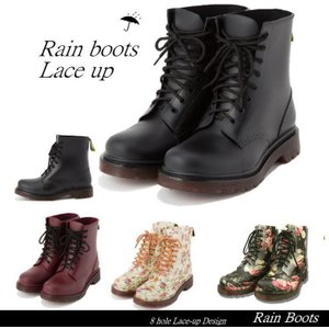 雨の日だって可愛くおしゃれにいられるレーインシューズ       スカートにもパンツにもコーデしやす...