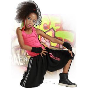 キッズ ダンス 衣装 【VOL.22!】 HIP-HOP-STEP-JUMP!のヒップホップ ハーフパンツ 白 黒 レディース ヒップホップ love&bb キッズ ダンス 衣装|love-bb2005|02