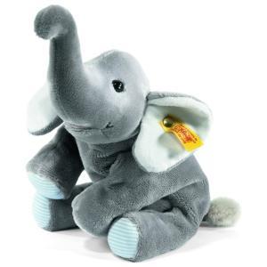優しそうな表情が可愛らしいゾウのトランピリです。 とても柔らかい素材でつくられているので、赤ちゃんや...