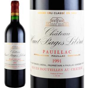 1991年 ワイン シャトー・オー・バージュ・リベラル 750ml