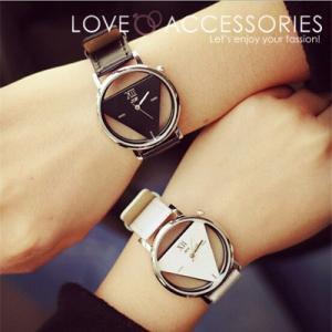 腕時計 レディース ウォッチ かわいい おしゃれ 人気 プチプラ トライアングル モチーフ ユニセックスウォッチ