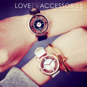 腕時計 レディース ウォッチ 時計 おしゃれ かわいい 人気 アクセサリー シースルー文字盤がおしゃれなレディースファッションウォッチ 腕時計
