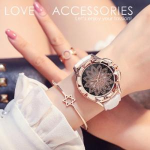 腕時計 レディース おしゃれ 安い 50代 60代 40代 30代 20代 時計 セール ラインストーンフラーデザインファッションウォッチ 女性用 パーティー エレガント