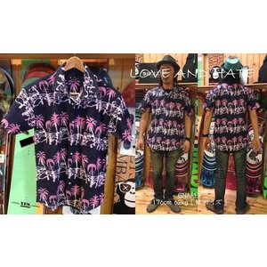 GNARLY  50% OFF  CLOTHES  Im on Vacation  ナーリー シャツ loveandhate
