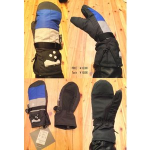 3REE  SUPER 3REE SUPER MIX PART2 Glove ミトンMITT        3TONグローブ DOT ドット水玉 loveandhate
