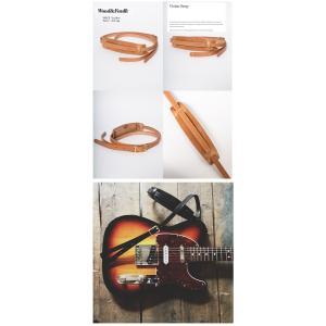 Wood&Faulk Wood and Faulk Guitar Strap   ギター ストラップレザー ベルトバンドストラップ loveandhate