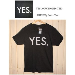YES  YES イエス スノーTEE Tシャツティーシャツ半袖