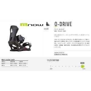 NOW  BINDING O DRIVE カーボン 17-18 ナウ ビン バイン ディング  スノー|loveandhate