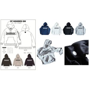 P01 17 PLAY CF HOODED SW プレイ 長袖 フード パーカー NO PLAY NO LIFE WORK DAYS BECAME PLAY DAYS|loveandhate
