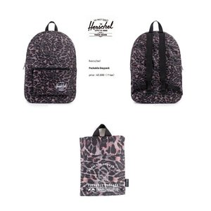 Herschel Supply Co ハーシェル Packable Daypack BAG   Leopard|loveandhate