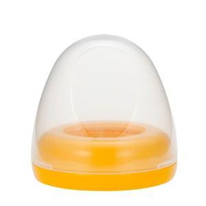 ピジョン 母乳実感 哺乳びんパーツ キャップ・フードセット オレンジイエロー 哺乳瓶 PIGEON B倉庫|loveandpeace8