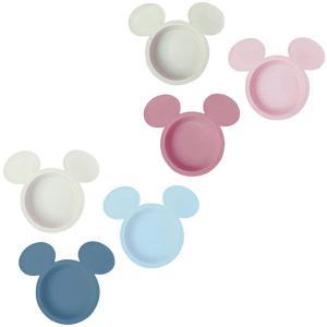 【クーポン配布中】エクリュシリーズ ディズニー アイコン小皿3枚セット ミッキーマウス ブルー/ピンク 錦化成|loveandpeace8