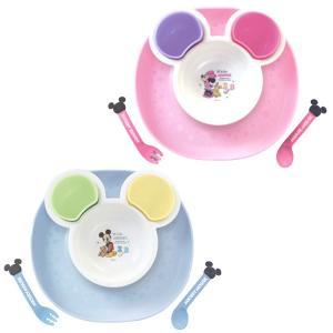 【クーポン配布中】ディズニー 食べこぼしキャッチプレート ミッキーマウス/ミニーマウス 錦化成|loveandpeace8