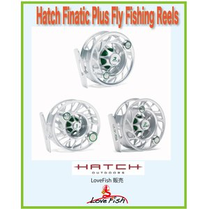 フライリールHatch Finatic Plus Fly Fishing ReelsH2P-CG-LA税/国際送料込み|lovefish