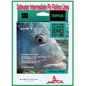 Hatch Saltwater Intermediate Fly Fishing Lines2個組 税/国際送料込み|lovefish