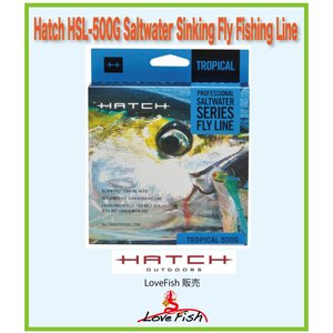 Hatch HSL-500G Saltwater Sinking Fly Fishing Line2個組 税/国際送料込み|lovefish