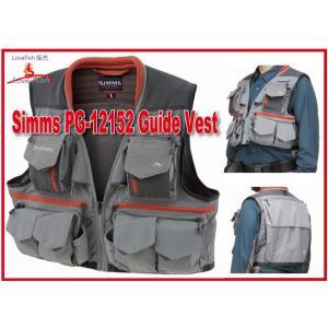 Simms PG-10356 Guide Vest Greystone 税/国際送料込み|lovefish