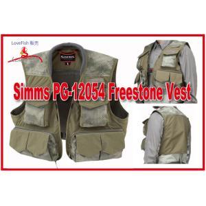 人気モデル Simms PG-10357 Freestone Vest Sand 税/国際送料込み|lovefish