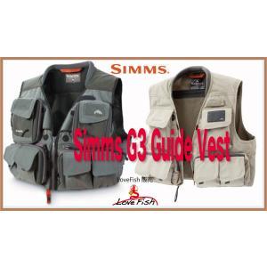 人気モデル Simms G3 Guide VestVGG10925 税/国際送料込み|lovefish