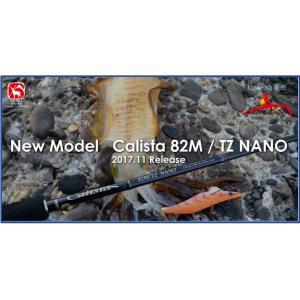アオリイカ!Calista 82M/TZ NANOカリスタ ヤマガブランクス2017/11新製品|lovefish