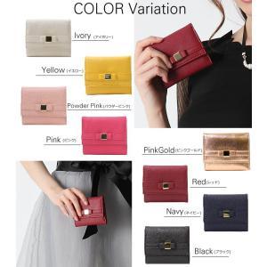 財布 レディース サイフ 二つ折り ミニ財布 ...の詳細画像2