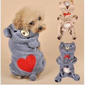 くまワンピース  犬服