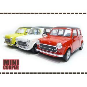 お得な3色セット 1/34 オールド ミニクーパー 1300 赤・白・黄 MINI ミスタービーン ...