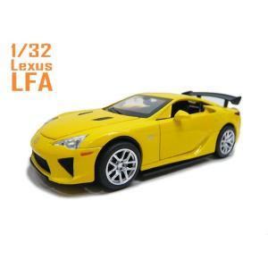1/32 トヨタ レクサス LFA イエロー Lexus 光...