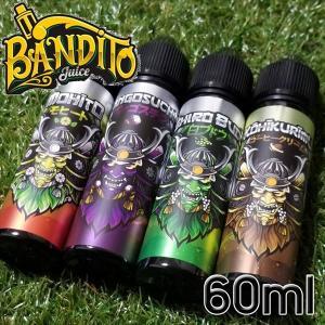 VAPE リキッド 電子タバコ BANDITO Juice バンディットジュース E-Liqid 6...