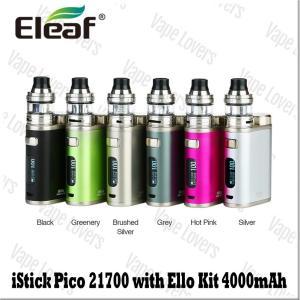 VAPE スターターキット 電子タバコ Eleaf iStick Pico 21700 100W w...